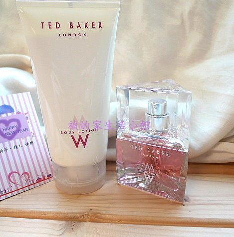 *禎的家*英國設計師名牌Ted Baker ~浪漫香水禮盒~ 最愛禮品選