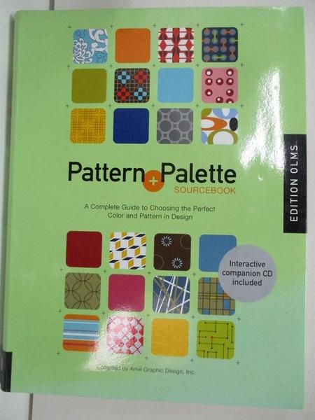 【書寶二手書T3/藝術_DO5】Pattern Palette_附光碟_Anvil Graphic Design