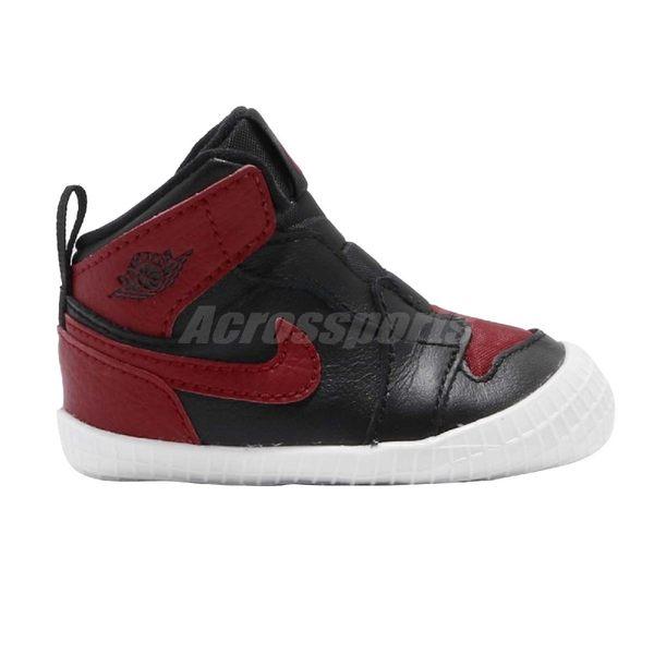 Nike Air Jordan 1 CRIB Bootie Bred 黑 紅 白 喬丹 飛人 AJ1 童鞋 小童鞋 運動鞋【PUMP306】 AT3745-023