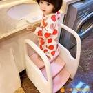 寶寶洗手臺階帶扶手兒童墊腳凳衛生間洗漱臺...
