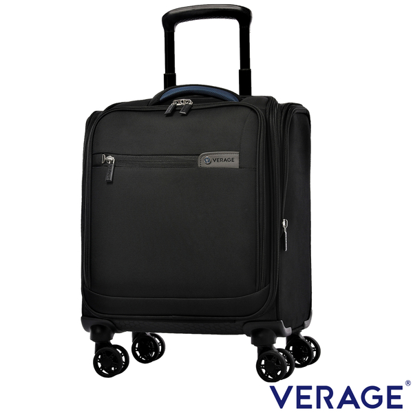 Verage ~維麗杰 14.5吋二代輕量經典系列電腦拉桿箱 (黑)