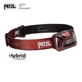 【速捷戶外】PETZL E91ABB 紅色 高亮度LED頭燈(150流明)TIKKINA, 登山露營,戶外照明