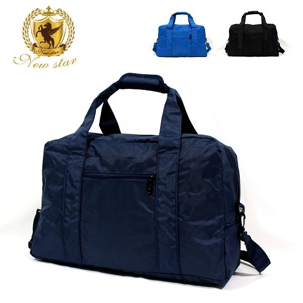 旅行袋 日系極簡超大容量口袋旅行包包肩背包 購物袋 男 女 男包 現貨 NEW STAR BB35