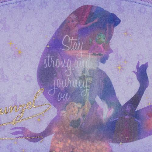 《sun-star》迪士尼公主夢想剪影系列化妝包(樂佩紫)★funbox生活用品★_UA48914
