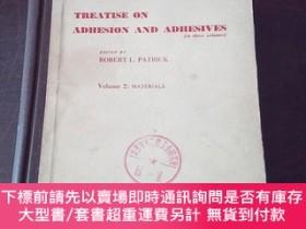 二手書博民逛書店TREATISE罕見ON ADHESION AND ADHESIVES(VOLUME 2,英文原版)Y2719