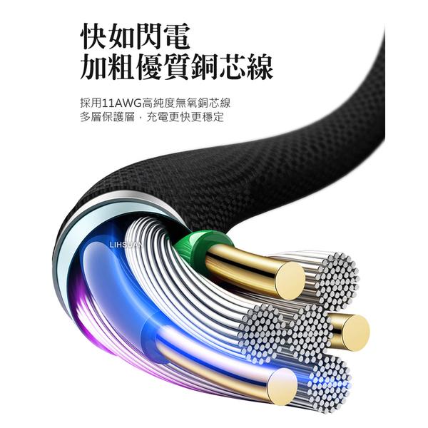 Mcdodo 麥多多 Type-C 充電線 閃充線 QC4.0 5A 超級快充 原子系列 50cm