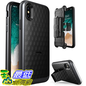 [106美國直購] 手機保護殼 i-Blason Cell Phone Cases for iPhone 8 - Black B0758CQFZW
