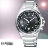 CITIZEN 星辰 (CB1070-56F) 光動能 鈦金屬 電波錶 男錶/黑/42mm