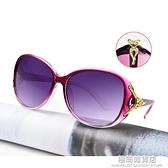 太陽鏡女士2021新款潮防紫外線偏光墨鏡時尚圓臉偏光眼鏡大臉顯瘦 極簡雜貨