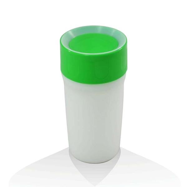 【英國litecup】發光不灑杯 全家人的夜燈水杯 青草綠