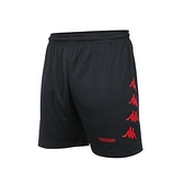 KAPPA 男K4T針織短褲(台灣製 五分褲 慢跑 路跑 運動 吸濕排汗≡體院≡ 32166YW-D18