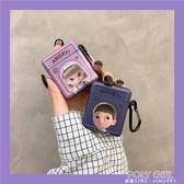 搞怪情侶卡通airpods保護套蘋果AirPodsPro藍芽耳機殼2/3代軟殼女 polygirl