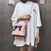 水桶包 新款包包女潮流時尚韓版側背包百搭女士手提斜背包水桶背包 伊羅鞋包