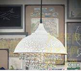 不二433美式鄉村鐵藝水晶吊燈客廳餐廳書房臥室燈飾吊燈家裝主材燈具別墅