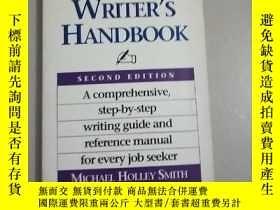 二手書博民逛書店THE罕見RESUME WRITERS HANDBOOK..Y267268 THE RESUME WRITER