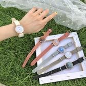一件8折免運 ins風小眾文藝森系女學生正韓簡約潮流手錶甜美氣質學院風女錶