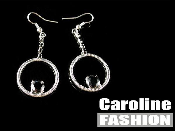 《Caroline》★奧地利施華洛世奇水晶時尚耳環17566