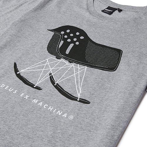 Deus Ex Machina Air Cooled Tee T恤-灰