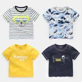 男童短袖T恤2018夏裝夏季新款童裝兒童