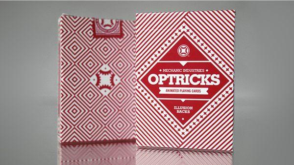 【USPCC撲克】Mechanic Optricks (Red) Deck S103049415