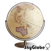 【SkyGlobe】17吋超大古典仿古地球儀