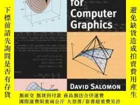 二手書博民逛書店Curves罕見And Surfaces For Compute