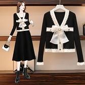 外套針織衫上衣中大尺碼M-5XL新款宮廷風重工釘珠毛衣上衣打底衫4F084-A-7238.
