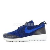Nike WMNS Roshe One Flyknit [704927-403] 女鞋 運動 休閒 深藍 藍