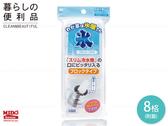 《Midohouse》100%日本原裝進口『長條狀附蓋製冰盒』8分格-NO.2095