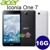 ACER Iconia One 7 7吋四核心平板 B1-790 (WiFi / 16G)