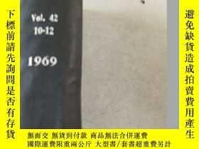 二手書博民逛書店bulletin罕見of the chemical societ