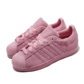 【海外限定】 adidas 休閒鞋 Superstar W 粉紅 女鞋 運動鞋 【PUMP306】 CG6004