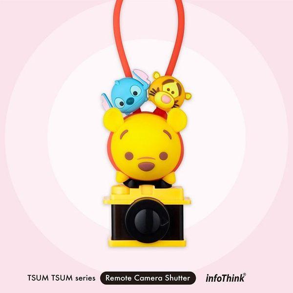 【妞妞♥3C】InfoThink TSUM TSUM 超廣角 魚眼/微距三合一手機鏡頭夾 小熊維尼