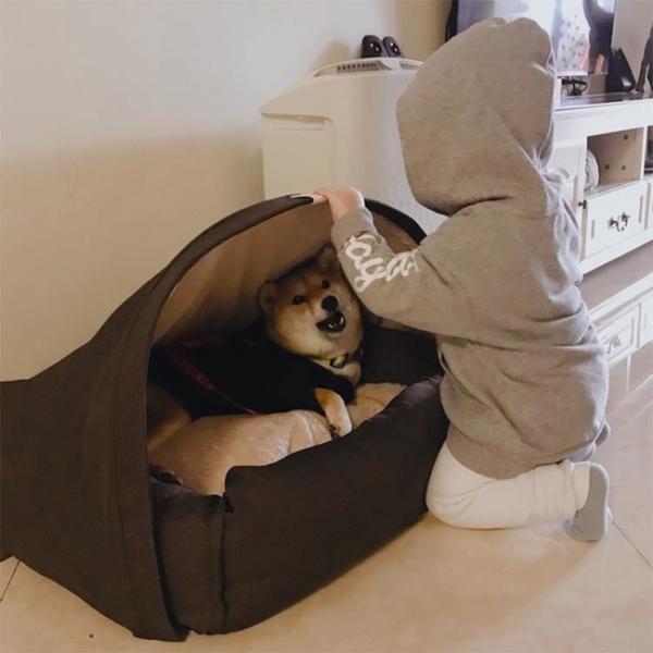 狗窩封閉式寵物帳篷窩