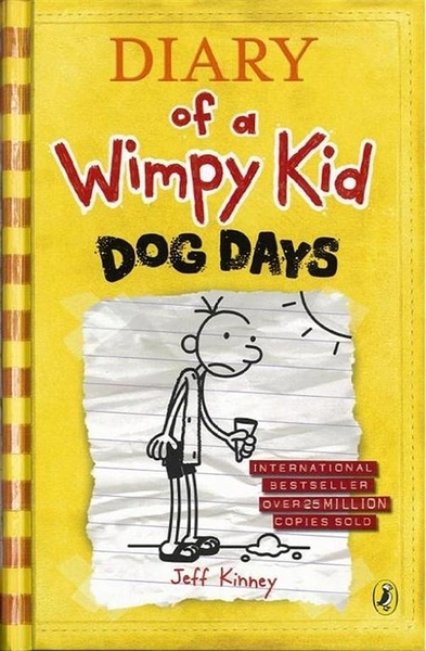 (二手書)Diary of a Wimpy Kid: Dog Days