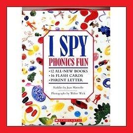 【麥克書店】★發音與遊戲的完美結合★ I Spy Phonics Fun /BOX SET+1CD