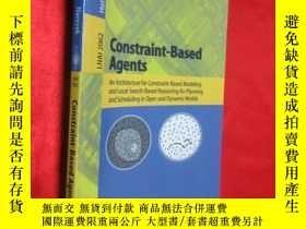 二手書博民逛書店Constraint-Based罕見Agents: An Arc