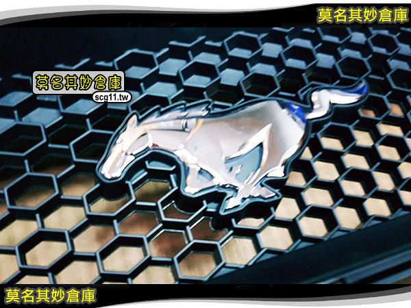 莫名其妙倉庫【UP015 GT 5.0 蜂巢水箱罩】原廠 15-18 野馬 MUSTANG 改頂級 GT 5000CC LOOK