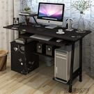 時尚亮面臺式電腦桌烤漆家用實用書桌...