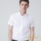 襯衫男士短袖商務正裝修身職業工裝大碼半袖襯衣【繁星小鎮】