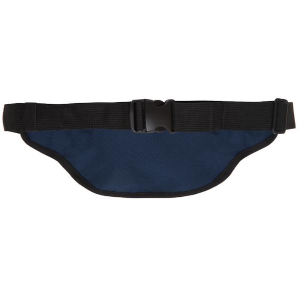 【橘子包包館】OUTDOOR 腰包-深藍色 ODS17B06NB