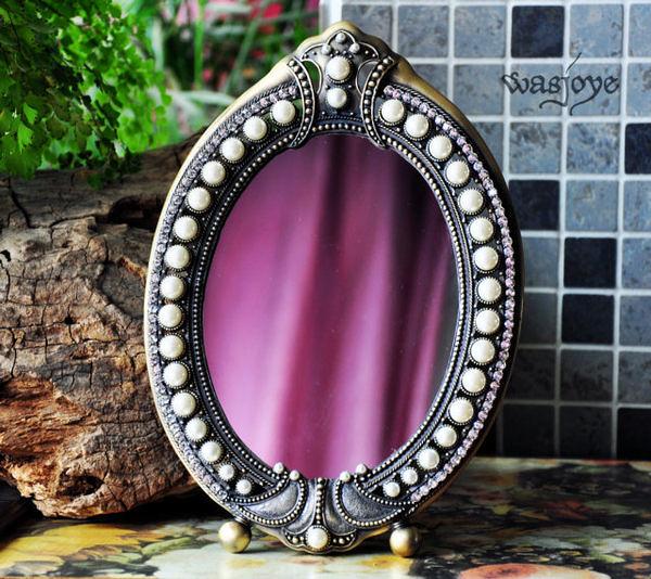 月光匣 經典鑲邊  化妝鏡(7寸)