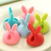 【BlueCat】小兔耳MP3耳機捲線器 集線器 繞線器 (4入)