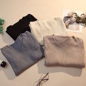 毛衣女2019秋冬新款百搭修身v領打底針織衫洋氣內搭長袖緊身上衣