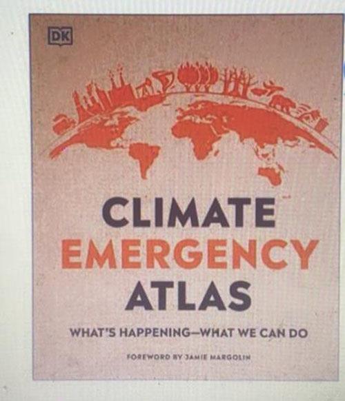 [COSCO代購] W1555261 DK Climate Emergency Atlas (外文書)