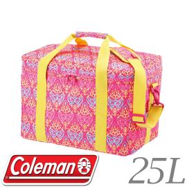 【Coleman 美國 25L紅葉圖騰保冷袋】CM- 22229/保冷袋/保冰袋★滿額送