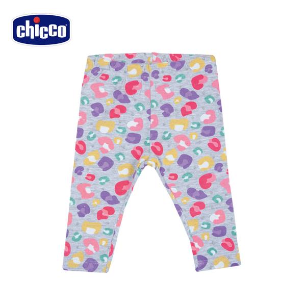 chicco-TO BE-繽紛花朵內搭長褲