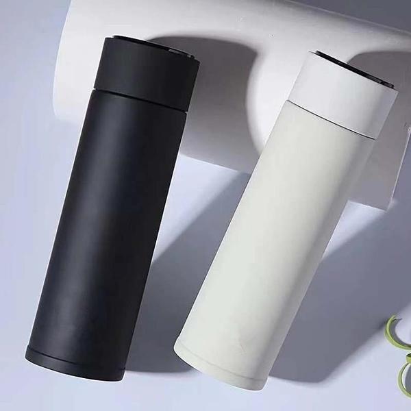 水壺商務女士測溫led降溫杯心動時尚智能保溫杯溫控學生水溫創意