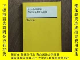 二手書博民逛書店Nathan罕見Der Weise (Reclams Universal-Bibliothek) (German