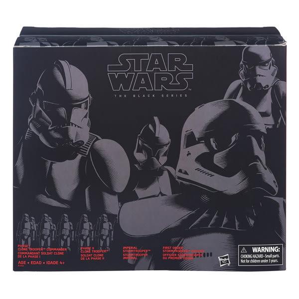 【 孩之寶流行玩具 】星際大戰電影7 - 黑標6吋帝國軍人物四入組 B4053